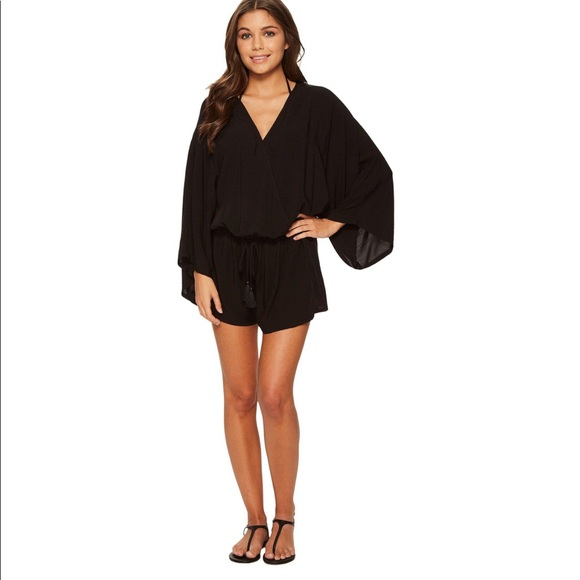 Vince Camuto Pants - Vince Camuto Surf Shades Cover-Up Romper